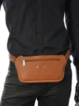 Fanny Pack Foures Brown 9670-vue-porte