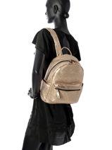 Backpack Miniprix Gold backpack MML9516-vue-porte