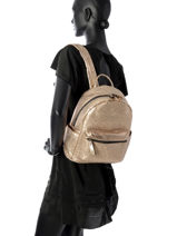 Sac à Dos Miniprix Or backpack MML9516-vue-porte