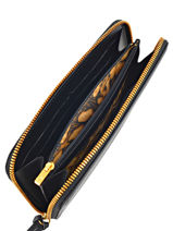 Longchamp Wallet Black-vue-porte