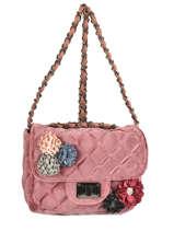 Crossbody Bag Velours Miniprix Pink velours 451