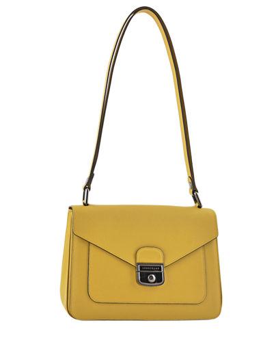 Longchamp Le pliage héritage Hobo bag Yellow
