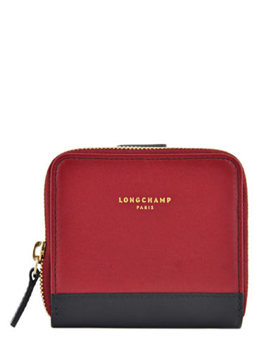 Longchamp Longchamp 2.0 Wallet Red