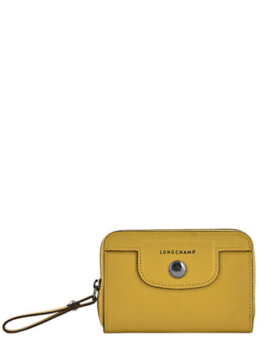 Longchamp Coin purse Yellow