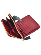 Longchamp Longchamp 2.0 Wallet Red-vue-porte