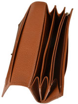 Longchamp Le foulonné Wallet Brown-vue-porte
