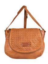 Crossbody Bag Raphael Fuchsia Brown raphael F9737-4