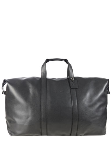 Longchamp Veau foulonné Travel bag Black