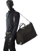 Longchamp Boxford Sacs de voyage Noir-vue-porte