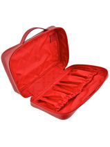 Longchamp Le foulonné Toiletry case Red-vue-porte