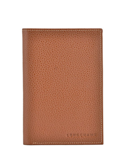 Longchamp Le foulonné Wallet Brown