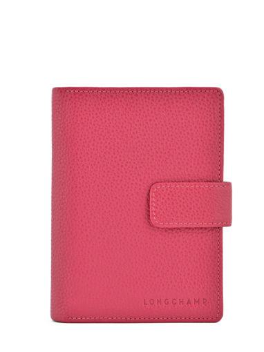 Longchamp Le foulonné Agenda Rose