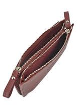 Longchamp Porte monnaie Rouge-vue-porte