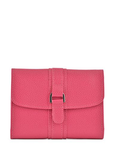 Longchamp Le foulonné Bill case / card case Pink