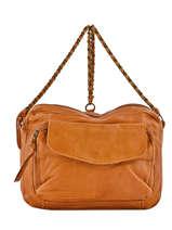 Cross Body Tas Naina Leather Pieces Brown naina 17087872
