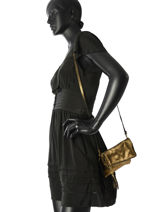 Sac De Ceremonie Milano Or night night 1016NN-vue-porte
