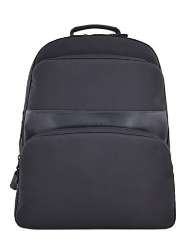 Longchamp NYLTEC Backpack Black