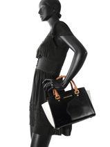 Top Handle Selma Leather Michael kors Black selma T7GLMS2A-vue-porte