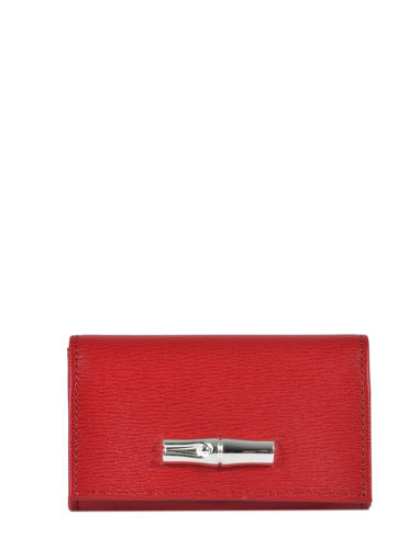 Longchamp Coin purse Red