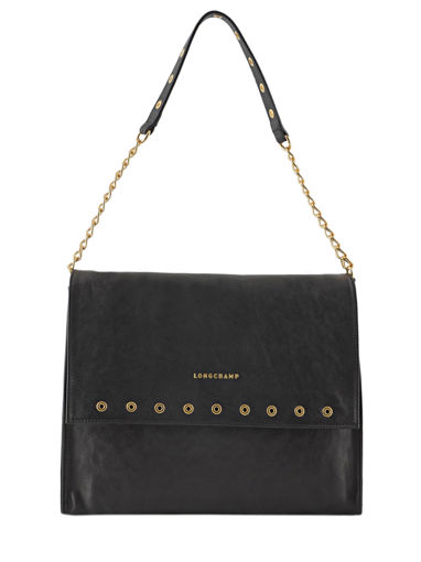 Longchamp Paris Rocks Hobo bag Black