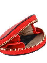 Purse Guess Red digital V6853101-vue-porte