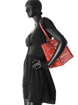 Shoulder Bag A4 Exie Guess Red exie VG686023-vue-porte