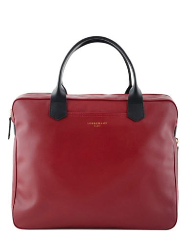 Longchamp Longchamp 2.0 Briefcase Red
