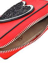 Purse Guess Red britta P6693101-vue-porte