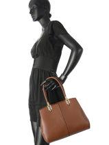Sac Shopping Classic Miniprix Marron classic M9317-vue-porte