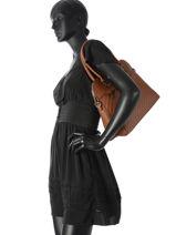 Shoulder Bag Honore Miniprix Brown honore G7340-vue-porte