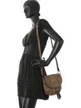 Crossbody Bag Vintage Miniprix Brown vintage J7658-vue-porte