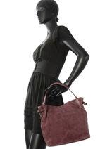 Sac Porté épaule Vintage Miniprix Rouge vintage J9130-vue-porte
