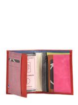 Portefeuille Cuir Etrier Rouge tricolor 110150-vue-porte