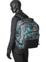 Backpack 2 Compartments Eastpak Black pbg authentic PBGK050-vue-porte