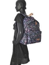 Backpack 1 Compartment Eastpak Violet pbg aminimal PBGAK620-vue-porte
