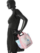 Top Handle Fairy Teo jasmin Pink fairy JAS626FA-vue-porte