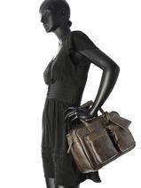 Top Handle Sturdy Romance Leather Cowboysbag Gray sturdy romance 1969-vue-porte