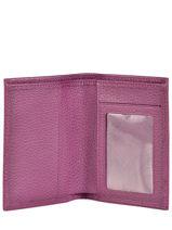Longchamp Le foulonné Porte billets/cartes Violet-vue-porte