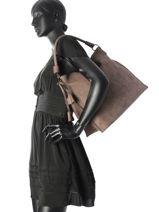 Shoulder Bag Miniprix Brown F5218-vue-porte