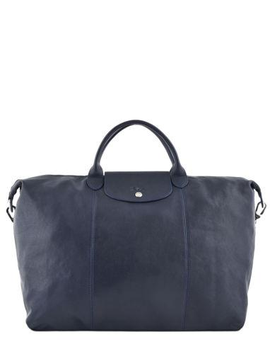 Longchamp Le pliage cuir Travel bag Blue