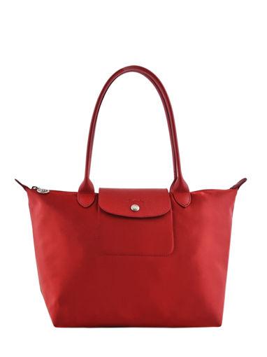 Longchamp Le pliage neo Besaces Rouge