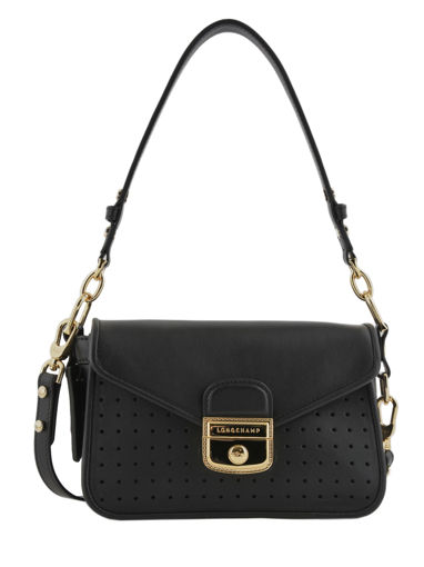 Longchamp Mademoiselle longchamp Messenger bag Black