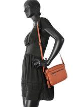 Shoulder Bag Sauvage Hexagona Brown sauvage 415496-vue-porte
