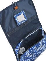 Beauty Case Roxy Bleu luggage RJBL3111-vue-porte