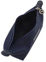 Longchamp Le pliage neo Clutches Blue-vue-porte