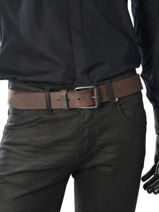 Belt Redskins Brown belt REDAIR-vue-porte