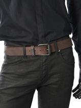 Ceinture Redskins Marron belt REDAIR-vue-porte