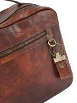 Key Holder Leather Chiarugi Brown street 51005-vue-porte