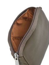 Purse Zippered Leather Katana Beige daisy 553066-vue-porte