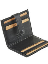 Card Holder Leather Katana Black marina 753130-vue-porte